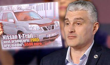 Александру Слусарь указал в своей декларации, что стоимость Nissan составляет около 1500 евро.