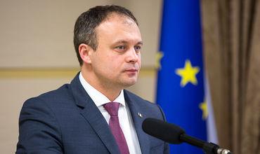 Председатель парламента Андриан Канду.