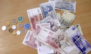 Devalorizarea rublei transnistrene. Foto: canal2.md