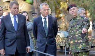 «Наша цель — мир, а не война», — сказал президент Румынии Клаус Йоханнис.