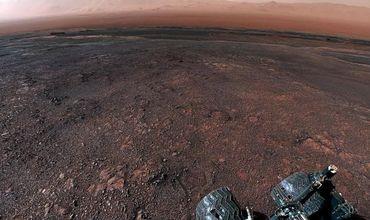 Космическое агентство смонтировало видео на основе панорамы, сделанной марсоходом 19 декабря.