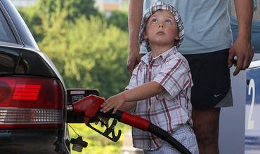 Водители недовольны ценой на топливо.