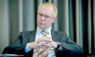 министр обороны Эстонии Ханнес Хансо.