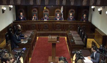 Конституционный суд отменил все решения, принятые им с 7 по 9 июня.