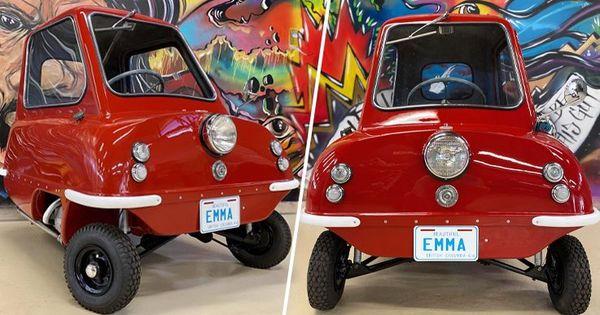 В США выставили на продажу самый маленький в мире серийный автомобиль thumbnail