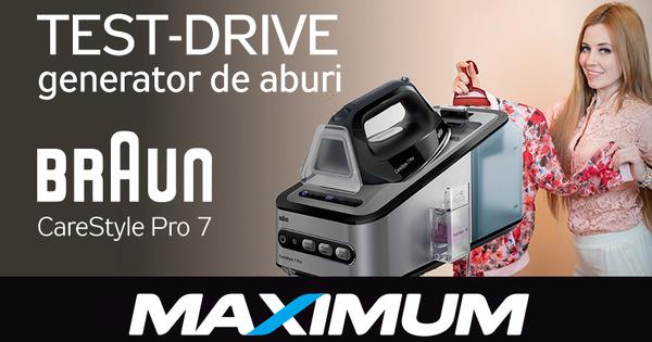 Maximum: Cu generator de aburi Braun CareStyle călcatul este o plăcere thumbnail