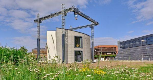 Cum arată cea mai mare clădire ridicată cu ajutorul unei imprimante 3D thumbnail