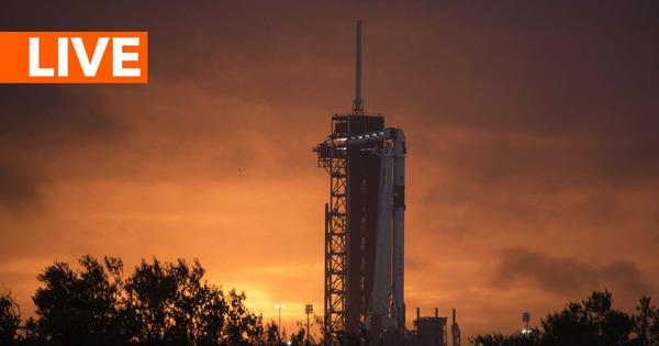 Вторая попытка: SpaceX отправляет астронавтов на МКС thumbnail