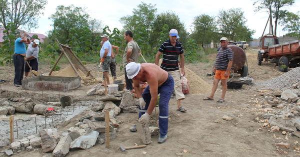 Строительство памятника ветеранам войны в Афганистане начали в Чишмикиое thumbnail