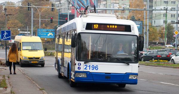 Бесплатный проезд в Кишиневе причинит убытки в 1,7 млн леев ежедневно thumbnail