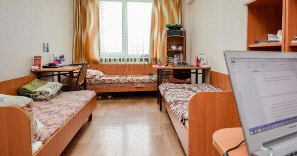 В общежитиях университетов 35% мест были заняты thumbnail