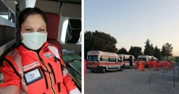 Молдаванка рассказала, каково это - быть добровольцем на скорой помощи в Италии thumbnail