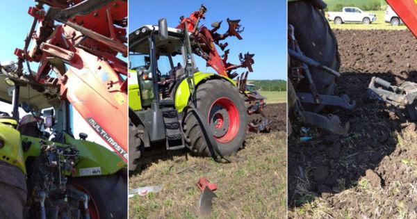 В Каушанах трактор подорвался на снаряде времен Второй мировой войны thumbnail
