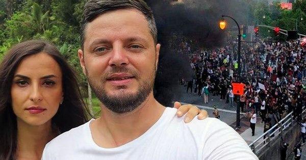 Vlogger român în SUA: Ne simţim în pericol. Nu putem ieşi pe stradă thumbnail