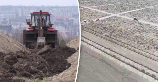 1.500 de gropi, săpate la un cimitir din Chișinău pentru victimele COVID-19 thumbnail