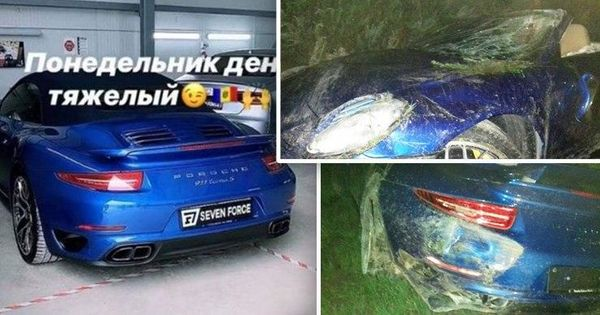 В Кишиневе сотрудники тюнинг-мастерской разбили Porsche 911 Turbo S thumbnail