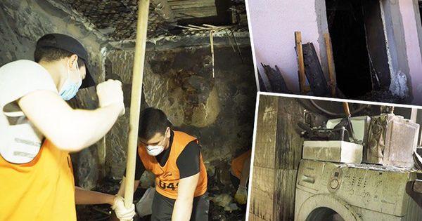 Strigăt de ajutor: 2 pensionari, pe drumuri după ce le-a ars casa thumbnail