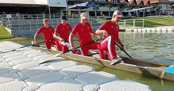 Молдавские гребцы завоевали 6 медалей на соревнованиях в Венгрии thumbnail