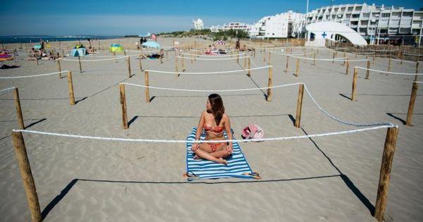 Soluția găsită pentru a redeschide o plajă din sudul Franței thumbnail