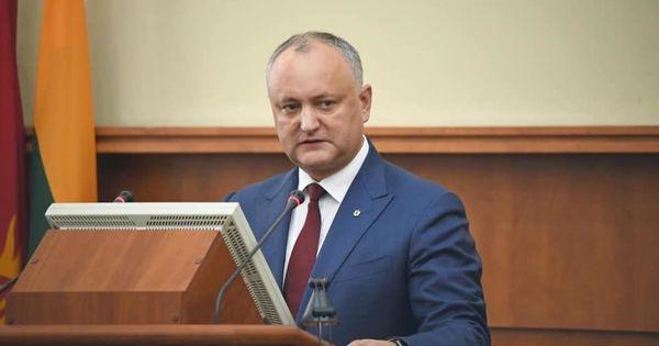 Igor Dodon anunță când vor fi reluate ședințele Parlamentului thumbnail