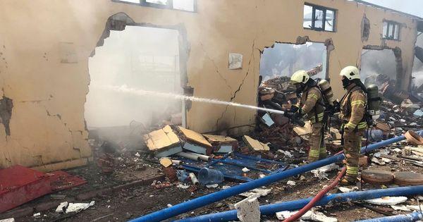 Во время взрывов на фабрике в Турции погибли четыре человека thumbnail