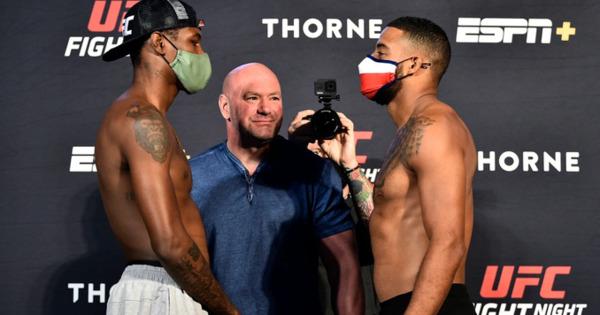 Боец UFC упал в обморок перед выходом в октагон thumbnail