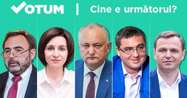 Sondaj Votum.md: Cine va fi următorul președinte al R. Moldova? thumbnail