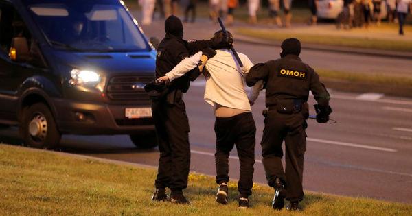 В Белоруссии в ходе протестов задержали 9 граждан Украины и избили фотокорреспондента thumbnail