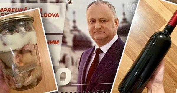 vânzare profesională adidași vastă selecție Cadourile primite de jurnaliști de la Dodon: Tușonkă și vin de la ...