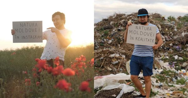 Instagram vs Realitate: Moldova văzută în 2 imagini de un designer thumbnail