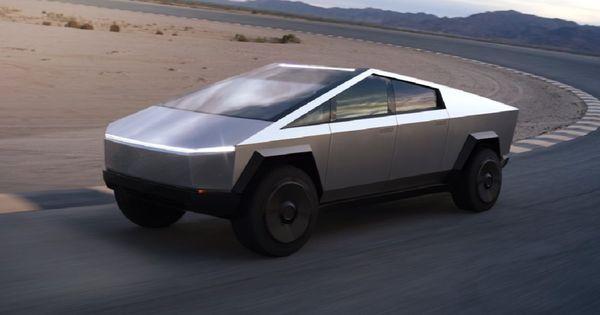 Unul dintre primele exemplare Cybertruck, surprins într-o fabrică Tesla thumbnail