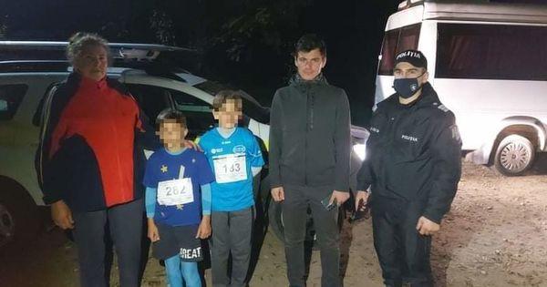 В Хынчештском районе полицейские нашли детей, потерявшихся в лесу thumbnail