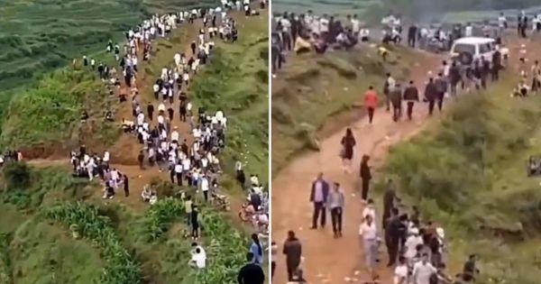 Mii de chinezi, în căutări pe munți, după ce au auzit sunete de dragon thumbnail