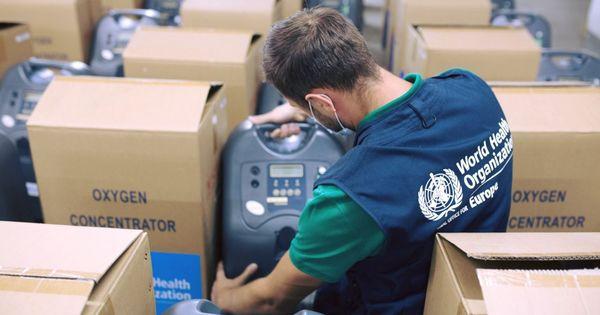 ЕС и ВОЗ предоставили Молдове более 300 кислородных концентраторов thumbnail