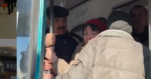 """Коронавирус: На Украине вытолкали """"лишнюю"""" пассажирку из салона thumbnail"""