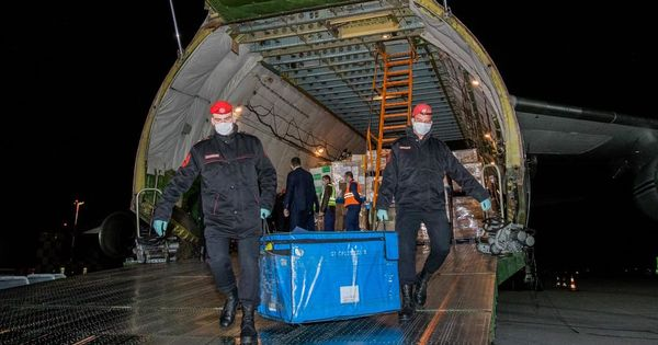 Российские военные доставили в Молдову медпомощь из Китая