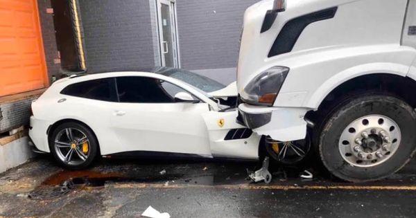 В США водитель грузовика уничтожил Ferrari своего начальника thumbnail