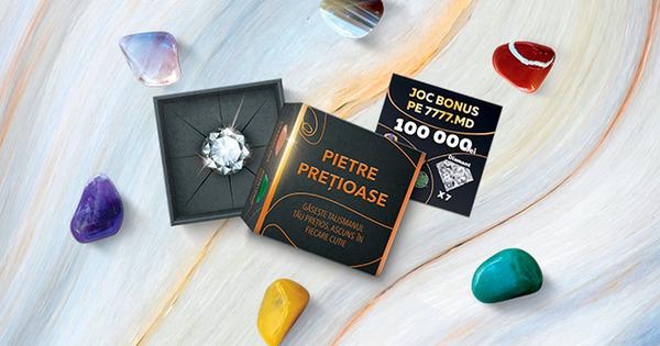 """Loteria Națională lansează campania """"Pietre prețioase"""" cu diamante adevărate Ⓟ thumbnail"""