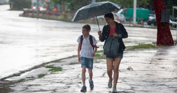 На всей территории страны ожидаются кратковременные грозовые дожди thumbnail