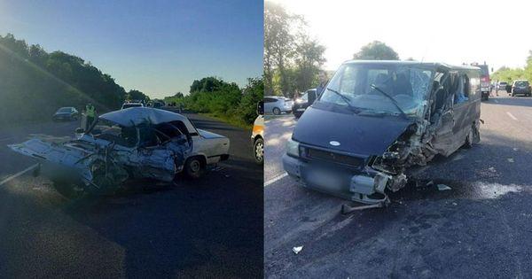 Цепное ДТП в Кожушне: машины разбились всмятку, водитель погиб thumbnail