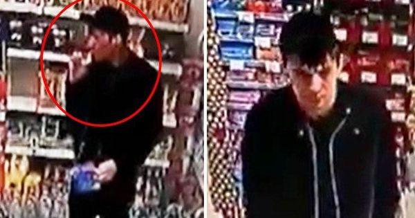 Infractor flămând, surprins cum fură produse alimentare dintr-un magazin thumbnail