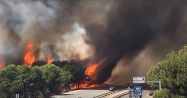 Природные пожары во Франции: 22 человека пострадали, почти 3 тысячи – эвакуированы thumbnail