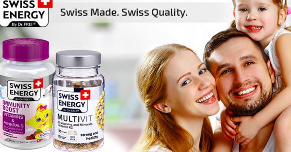 Swiss Energy: Alegem vitamine pentru întreaga familie Ⓟ thumbnail
