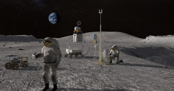 Nivelul de radiaţii de pe Lună, de 200 de ori mai ridicat decât pe Terra thumbnail