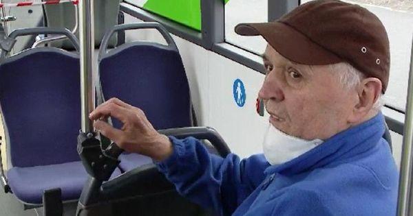 Reacția unui bătrân din România, prins în autobuz după ora 13.00 thumbnail