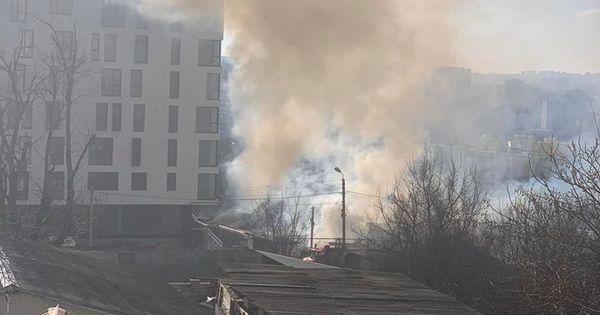 На Рышкановке в частном доме произошел сильный пожар