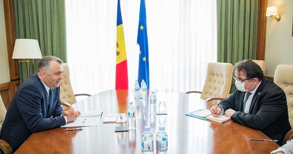 Chicu și Michalko au discutat condițiile în care Moldova va primi ajutor din UE thumbnail