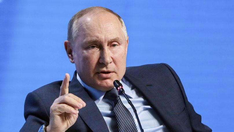 Putin: Rusia nu foloseşte gazele ca o armă şi este gata să ajute Europa