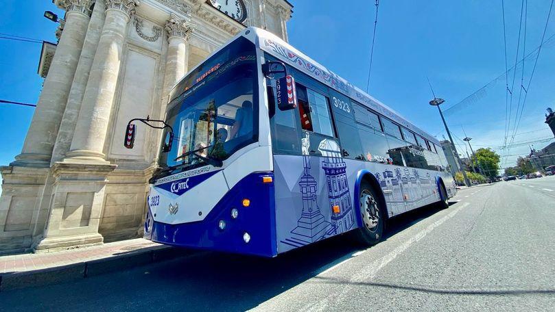 Cum va circula troleibuzul turistic de Hramul Chișinăului