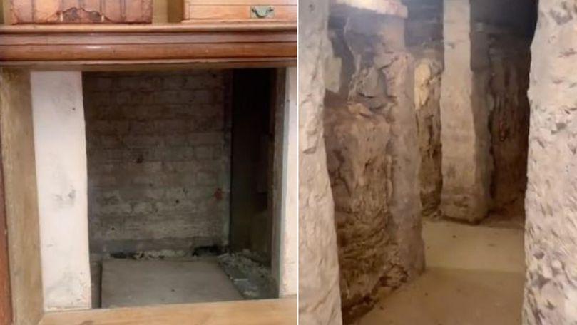 Un bărbat a descoperit zeci de pasaje ascunse ce datează din 1800